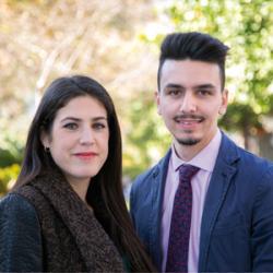 María Dolores Ramos y Alberto Santos Blanco