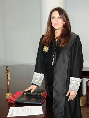 Isabel Escartín, Decana de los Procuradores
