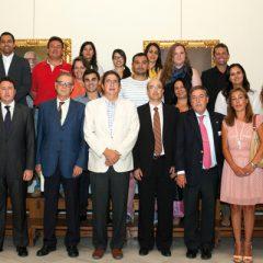 Juristas latinoamericanos visitan el Colegio