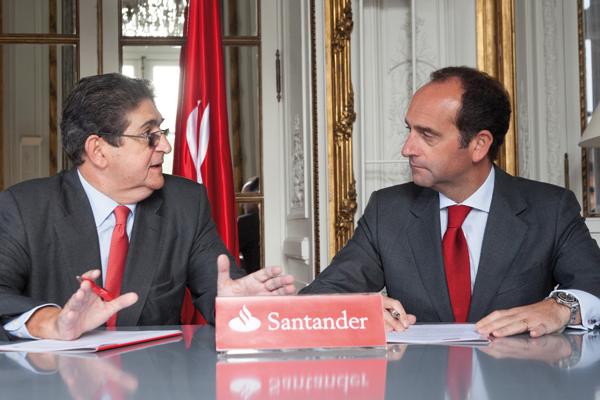 Convenio con el Banco Santander