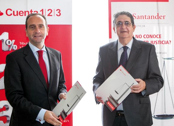 Colaboración con Santander Justicia