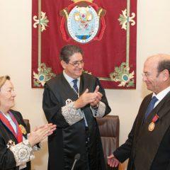 Medalla del Mérito a la Justicia a Miguel Carpintero