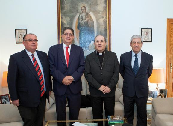 La Fundación Villacieros visitó al Arzobispo
