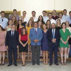 Visita de abogados jóvenes holandeses