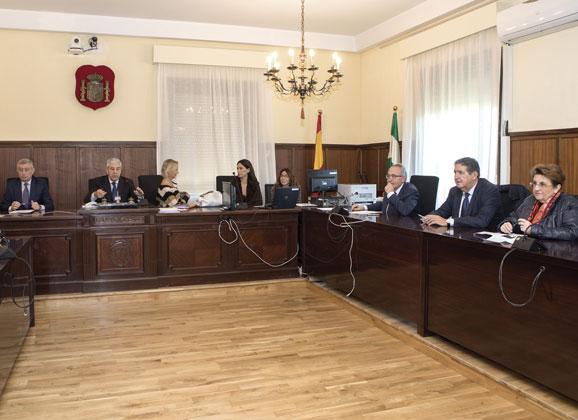 Comisión en la Audiencia contra la violencia de género