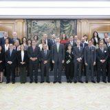 Dos Juntas de Gobierno cumplimentaron a Felipe VI