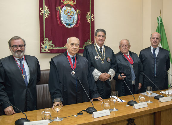 Homenaje a los letrados Jorge Piñero y Jesús Bores