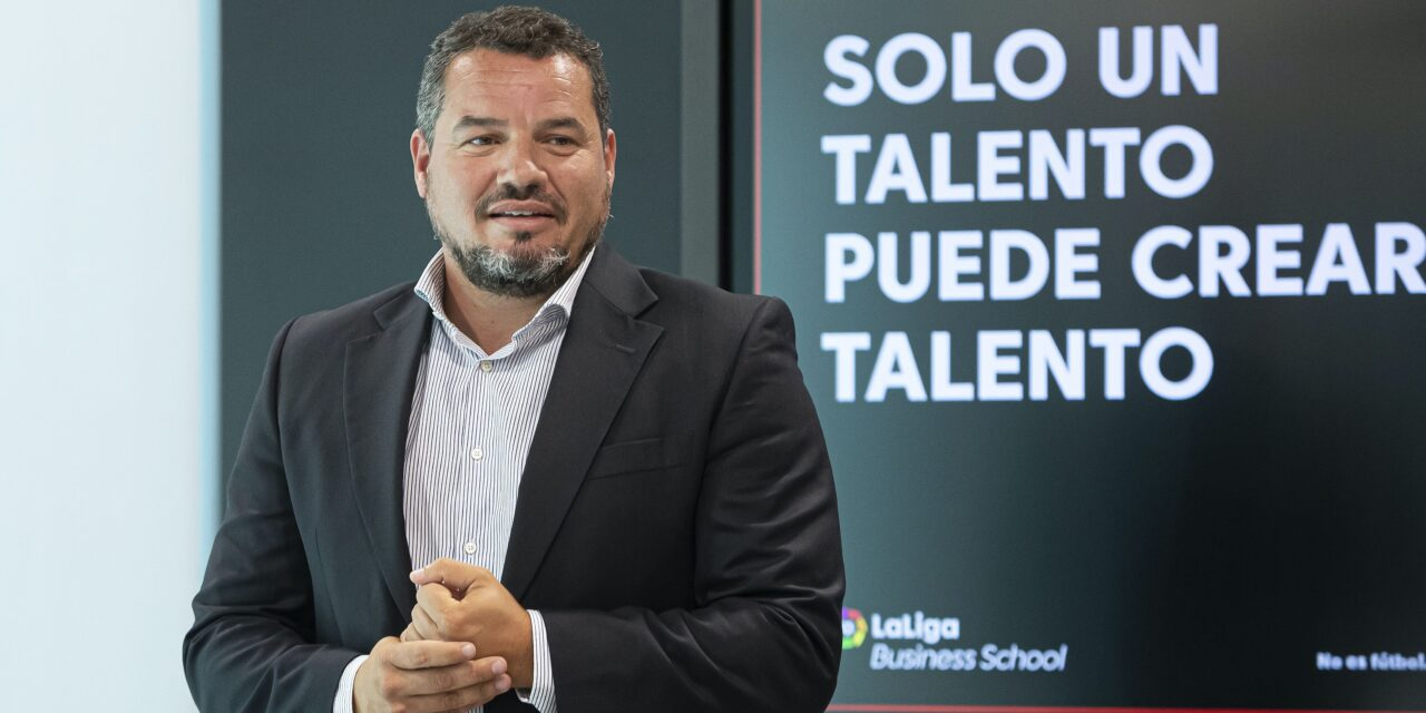 José Moya Gómez, director de LaLiga Business School