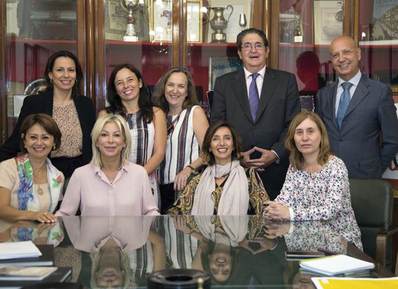 Encuentro con juristas italianos sobre Trata de blancas