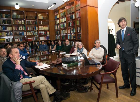 Master Class en la Biblioteca